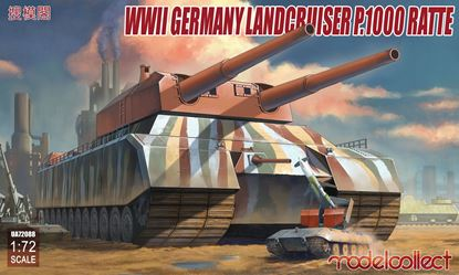 Picture of WWII German Landcruiser P.1000 ratte